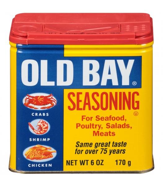 Old Bay Original Seasoning 6oz (170g) Spices & Seasonings