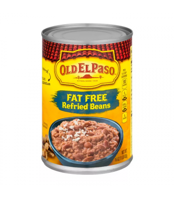 Old El Paso Fat Free Refried Beans - 16oz (435g) Food and Groceries