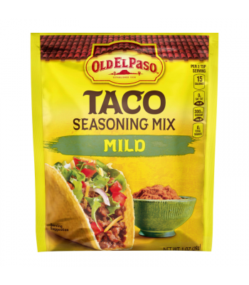 Old El Paso Mild Taco Seasoning - 1oz (28g) Spices & Seasonings
