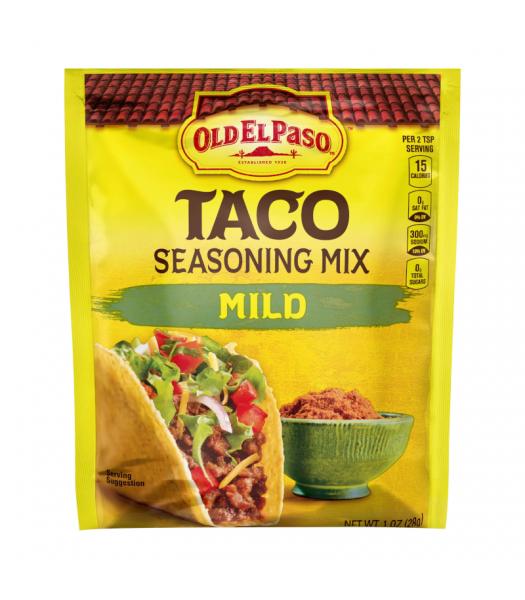 Old El Paso Mild Taco Seasoning - 1oz (28g) Spices & Seasonings