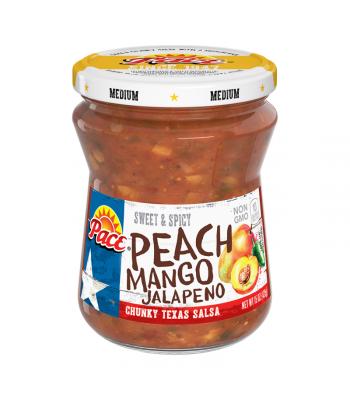 Pace Peach Mango Jalapeño Salsa - 15oz (425g) Food and Groceries