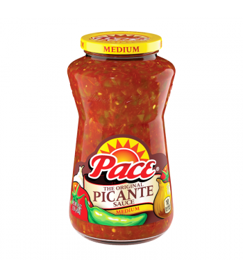 Pace Medium Picante Sauce - 16oz (453g) Food and Groceries
