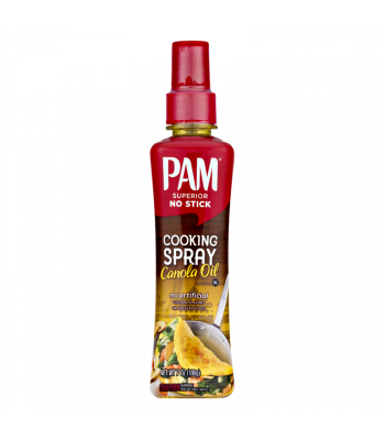 PAM No Stick Cooking Spray Canola Oil - 7oz (198g) Food and Groceries