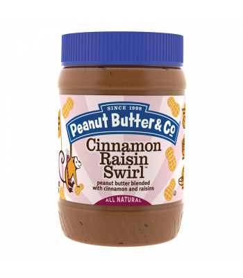 PB & Co Cinnamon Raisin Swirl Peanut Butter 16oz (454g) Food and Groceries