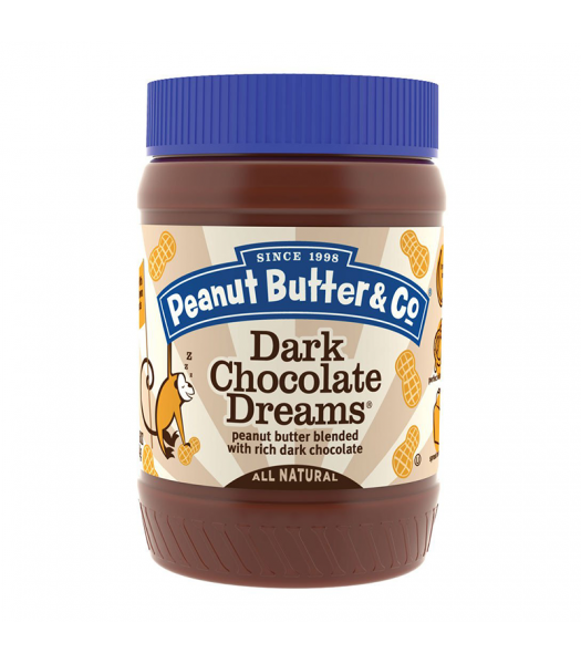 PB & Co Dark Chocolate Dreams Peanut Butter 16oz (454g)