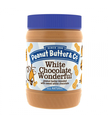 PB & Co White Chocolate Wonderful Peanut Butter 16oz (454g)