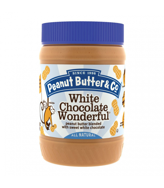 PB & Co White Chocolate Wonderful Peanut Butter 16oz (454g) Food and Groceries