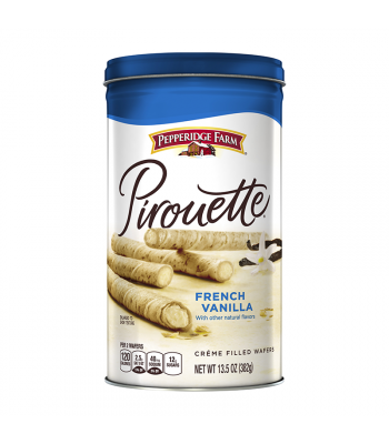 Pepperidge Farm Pirouette French Vanilla Filled Wafers - 13.5oz (382g) Cookies and Cakes Pepperidge Farm