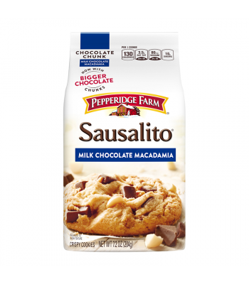 Pepperidge Farm Sausalito Milk Chocolate Chunk Macadamia Cookies 7.2oz (204g) Cookies and Cakes Pepperidge Farm