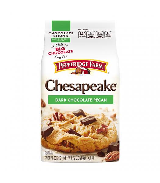 Pepperidge Farm Chesapeake Dark Chocolate Pecan Cookies - 7.2oz (204g) Cookies and Cakes Pepperidge Farm