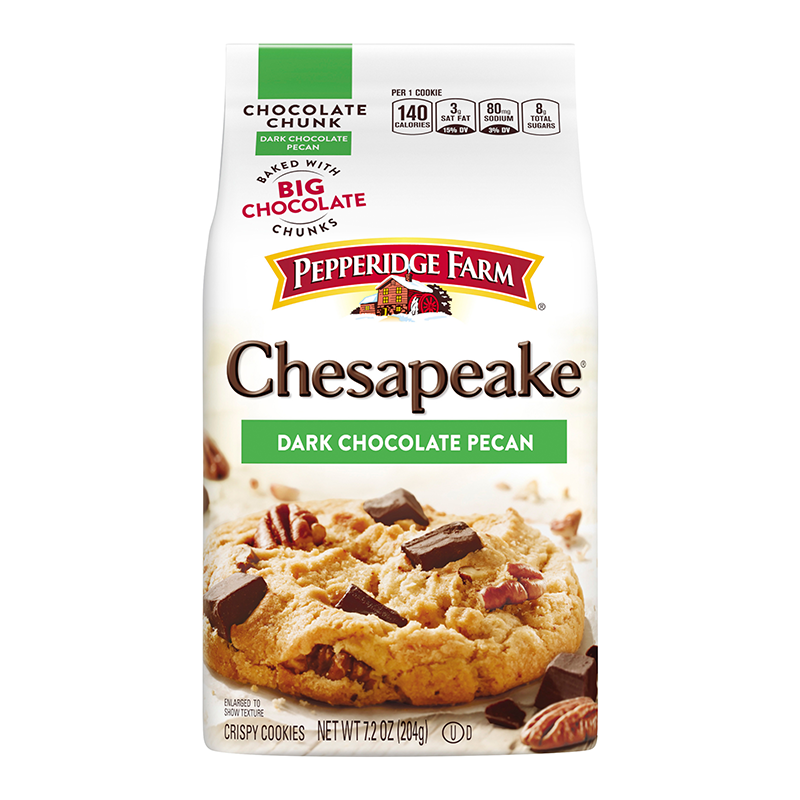 Pepperidge Farm Chesapeake Dark Chocolate Pecan Cookies 7 2oz 204g American Fizz