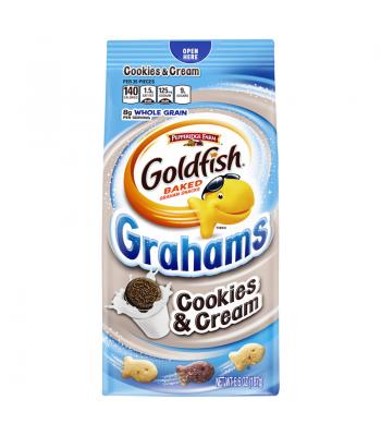 Pepperidge Farm Goldfish Grahams Cookies n Creme Biscuits 6.6oz (187g)