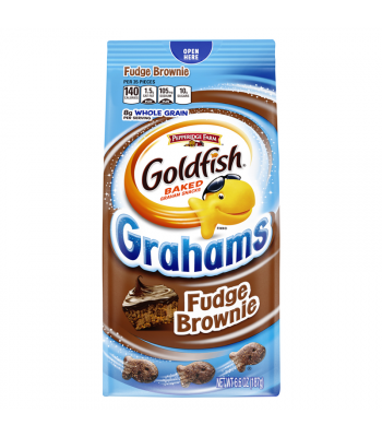 Pepperidge Farm Goldfish Grahams Fudge Brownie 6.6oz (187g) Crackers Pepperidge Farm