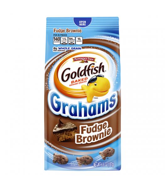 Pepperidge Farm Goldfish Grahams Fudge Brownie 6.6oz (187g) Crackers Pepperidge Farm