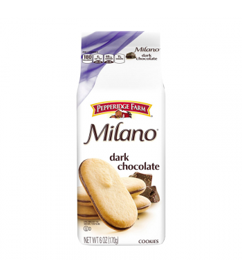 Clearance Special - Pepperidge Farm Milano Dark Chocolate Cookies - 6oz (170g) **Best Before: 30 August 20** Clearance Zone