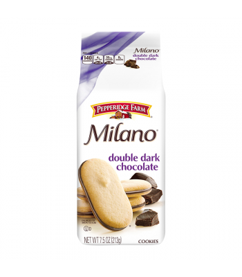 Pepperidge Farm Milano Double Dark Chocolate Cookies - 7.5oz (213g) Cookies and Cakes Pepperidge Farm