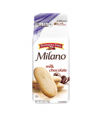 Pepperidge Farm Milano Milk Chocolate Cookies - 6oz (170g) Cookies and Cakes Pepperidge Farm