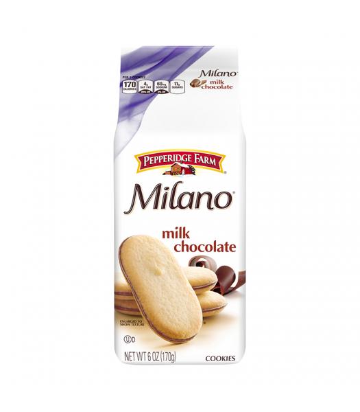 Pepperidge Farm Milano Milk Chocolate Cookies - 6oz (170g) Cookies and Cakes Pepperidge Farm