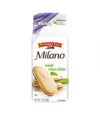 Pepperidge Farm Milano Mint Cookies - 7oz (198g) Cookies and Cakes Pepperidge Farm
