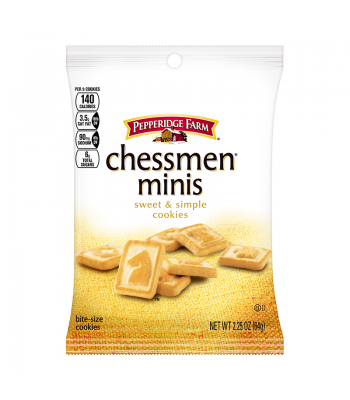Pepperidge Farm Mini Chessman Cookies Grab Bag 2.25oz (64g) Food and Groceries Pepperidge Farm