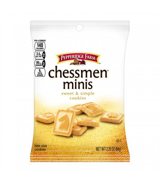 Pepperidge Farm Mini Chessman Cookies Grab Bag 2.25oz (64g) Food and Groceries Pepperidge Farm