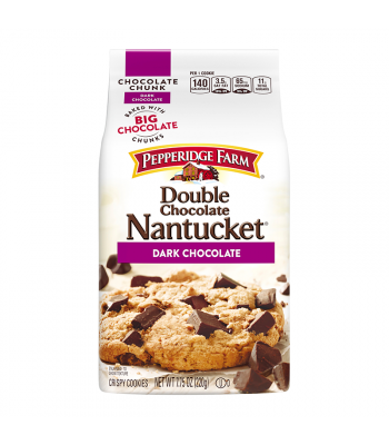 Pepperidge Farm Nantucket Double Dark Chocolate Cookies - 7.75oz (220g) Cookies and Cakes Pepperidge Farm