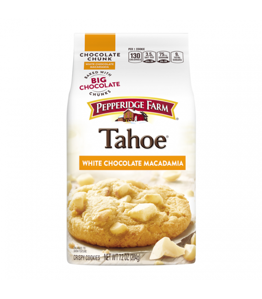 Pepperidge Farm Crispy Chunk Tahoe White Macadamia Cookies 7.2oz Cookies and Cakes Pepperidge Farm