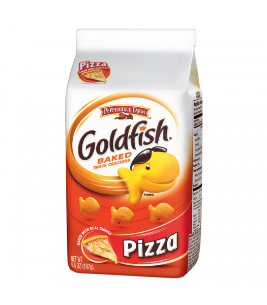 Pepperidge Farm Goldfish Crackers Pizza Flavour 6.6oz (187g)