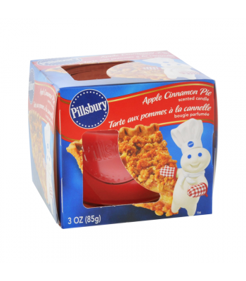 Pillsbury Apple Cinnamon Pie Scented Candle 3oz (85g) Food and Groceries Pillsbury