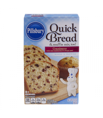 Pillsbury Cranberry Quick Bread & Muffin Mix - 15.6oz (442g) Food and Groceries Pillsbury