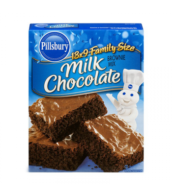 Pillsbury Milk Chocolate Brownie Mix - 18.4oz (521g) Food and Groceries Pillsbury