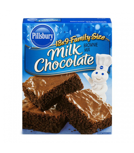 Pillsbury Milk Chocolate Brownie Mix - 18.4oz (521g) Food and Groceries Pillsbury