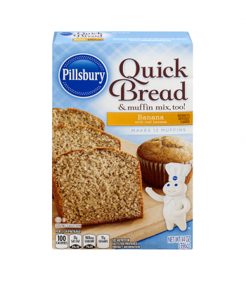 Pillsbury Banana Quick Bread 14oz (396g)