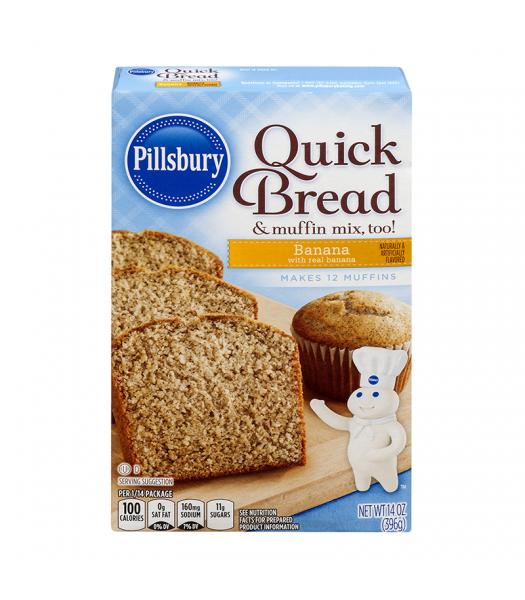 Pillsbury Banana Quick Bread 14oz (396g) Food and Groceries Pillsbury