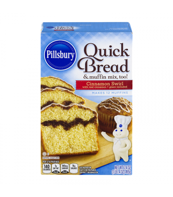 Pillsbury Cinnamon Swirl Quick Bread 17.4oz (493g)