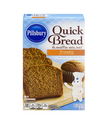 Pillsbury Pumpkin Quick Bread & Muffin Mix - 14oz (396g) Food and Groceries Pillsbury