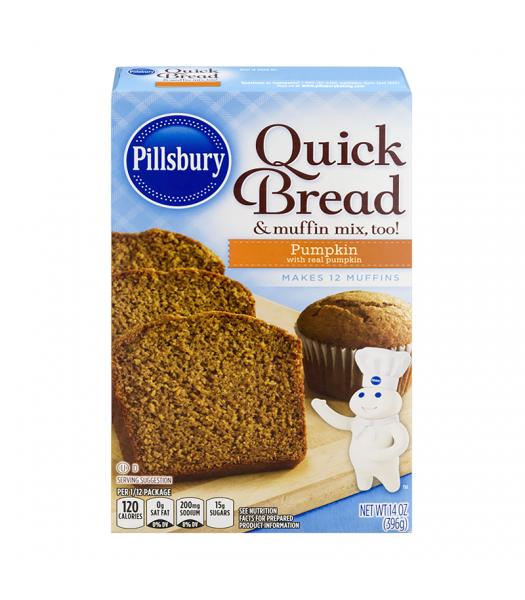 Pillsbury Pumpkin Quick Bread & Muffin Mix - 14oz (396g) Food and Groceries Pillsbury