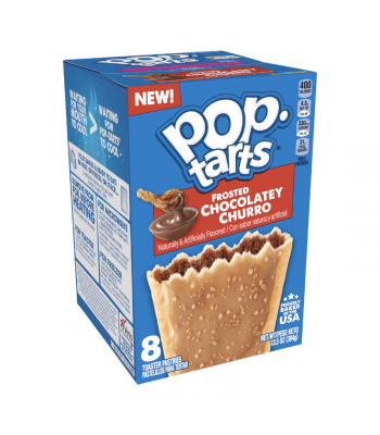 Pop Tarts - Frosted Chocolatey Churro 8-Pack - 13.5oz (384g) Toaster Pastries