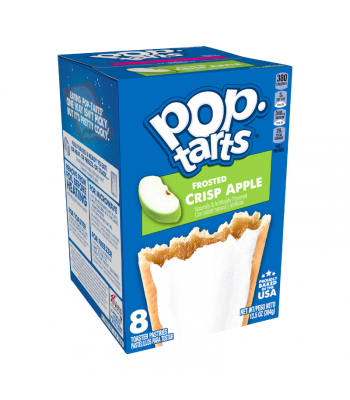 Kelloggs Pop Tarts Frosted Crisp Apple 8-Pack - 13.5oz (384g) Cookies and Cakes Kellogg's