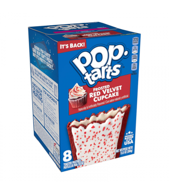 Pop Tarts - Frosted Red Velvet 8-Pack - 13.5oz (384g) Cookies and Cakes Pop Tarts