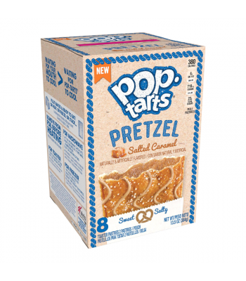 Pop Tarts - Pretzel Salted Caramel 8-Pack - 13.5oz (384g) Cookies and Cakes Pop Tarts