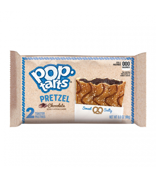 Pop Tarts Pretzel Chocolate - Twin Pack - 3.39oz (96g) Cookies and Cakes Pop Tarts