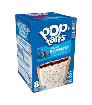 Pop Tarts Frosted Blueberry 8-Pack - 13.5oz (384g) Cookies and Cakes Pop Tarts