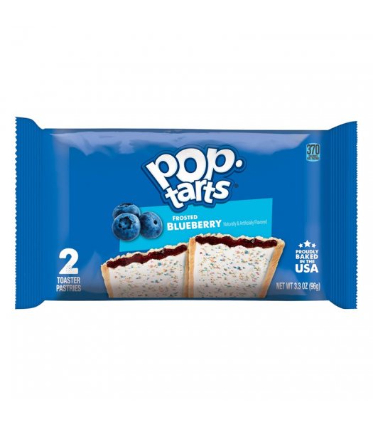 Clearance Special - Pop Tarts - Frosted Blueberry - Twin Pack - 3.3oz (96g) **Best Before: 10 August 21** Clearance Zone