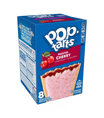 Pop Tarts Frosted Cherry 8-Pack - 13.5oz (384g) Cookies and Cakes Pop Tarts