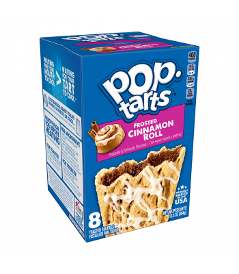 Pop Tarts Frosted Cinnamon Roll - 8-Pack - 13.5oz (384g) Cookies and Cakes Pop Tarts