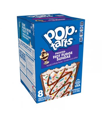 Pop Tarts - Frosted Hot Fudge Sundae 8-Pack - 13.5oz (384g) Cookies and Cakes