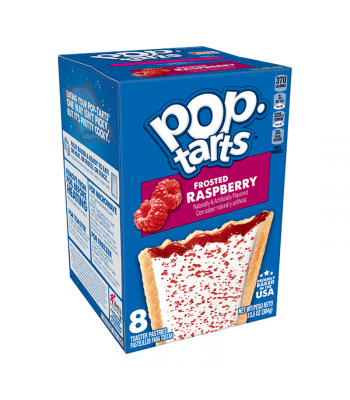 Pop Tarts Frosted Raspberry 8-Pack - 13.5oz (384g) Cookies and Cakes Pop Tarts