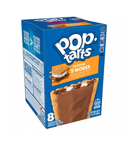Pop Tarts Frosted S'mores 8-Pack - 13.5oz (384g) Cookies and Cakes Pop Tarts