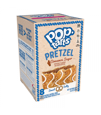 Pop Tarts Pretzel Cinnamon Sugar 13.5oz (384g)  Food and Groceries Pop Tarts
